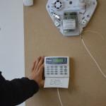 Burglar alarm panel programming