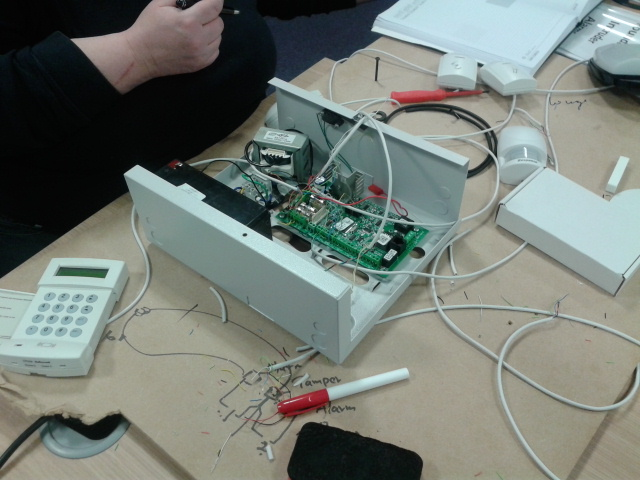 Alarm Courses In London Burglar Intruder Alarm