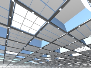 CCTV Installation on celing tiles