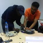PZ camera installation