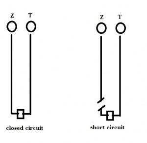 short circuit alarm wiring
