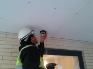 installing dome camera