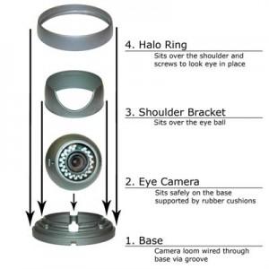 eye ball cctv cameras