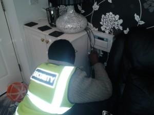 Installing a DIY burglar alarm