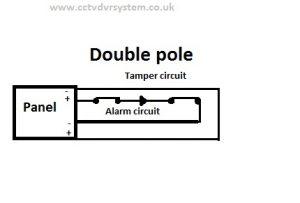 double pole normally close circuit